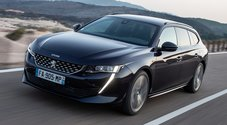 Peugeot 508 SW: la familiare dal look shooting brake è anche ibrida