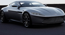 Aston Martin, DB10 guidata da James Bond in Spectre all'asta per 1,3 milioni di euro