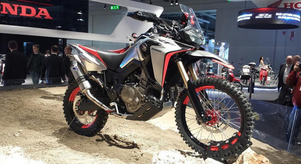 Il concept Honda Africa Twin enduro sports