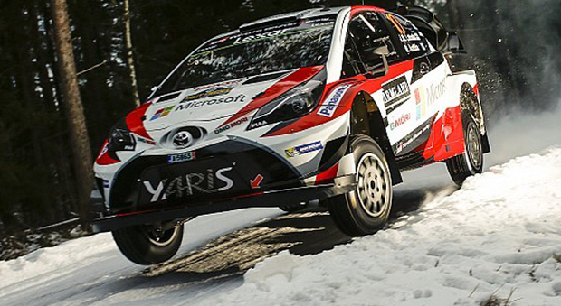 La Toyota Yaris WRC Plus di Latvala