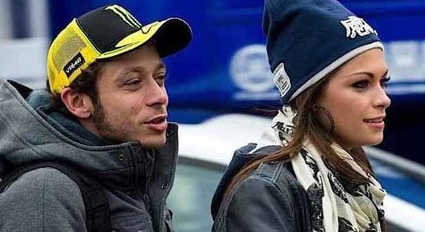 Valentino Rossi with fun, Girlfriend Linda Morselli