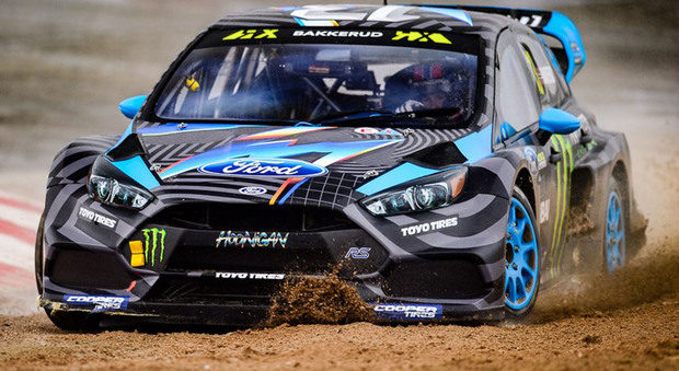 Il norvegese Andreas Bakkerud su Ford Focus RS