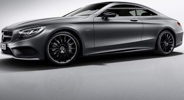 La Mercedes Classe S coupé Night Edition