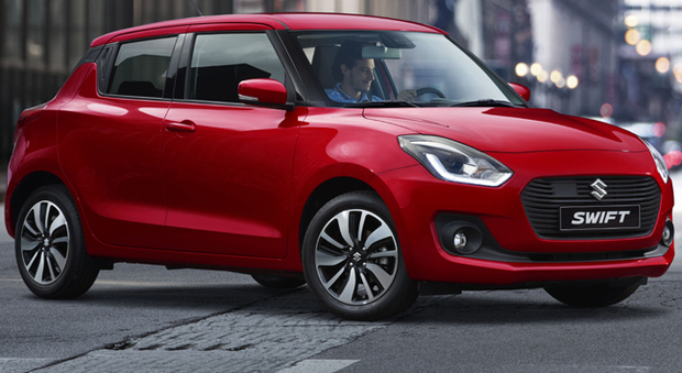 La nuova Suzuki Swift