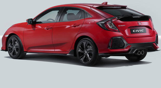 La nuova Honda Civic Hatchback