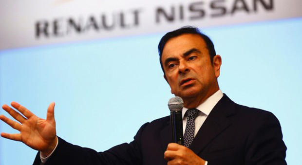 Carlos Ghosn, ceo dell'Alleanza Renault-Nissan