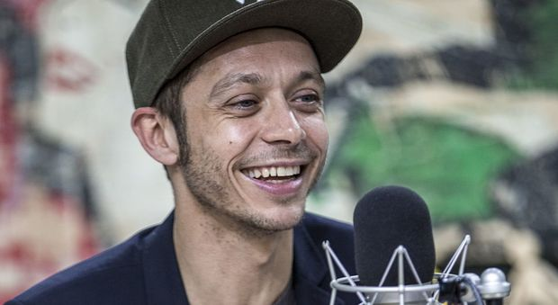 Valentino Rossi ospite a Radio Deejay