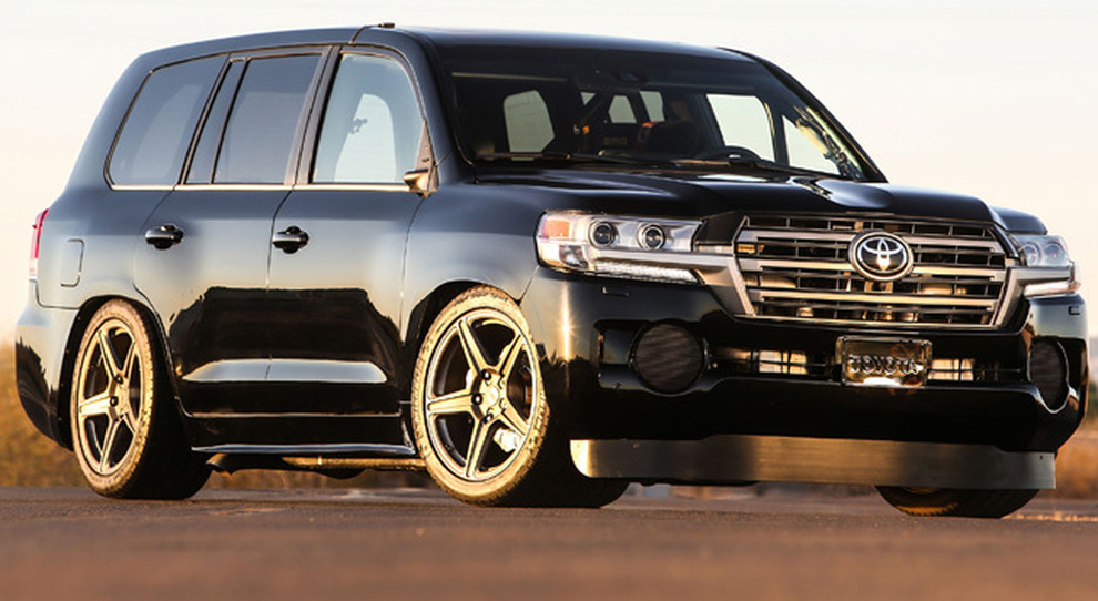 Il Toyota Land Speed Cruiser
