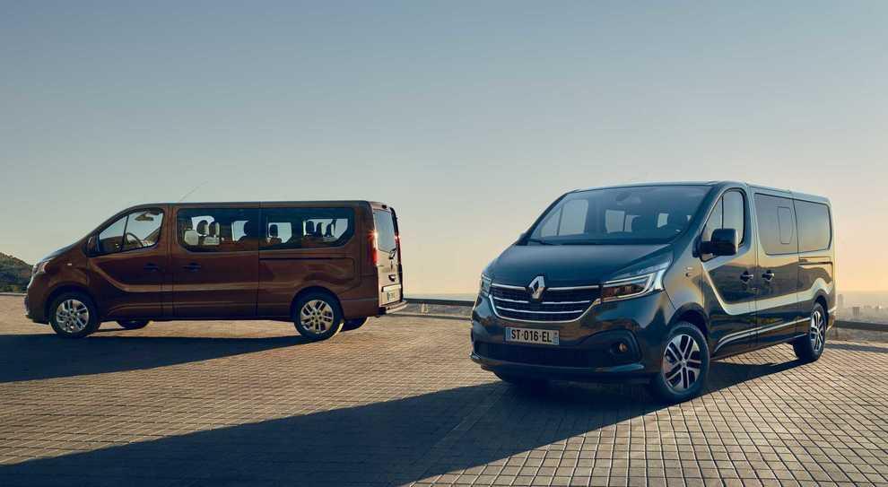 Nuovi Renault Master e Trafic: design evoluto, maggiore
