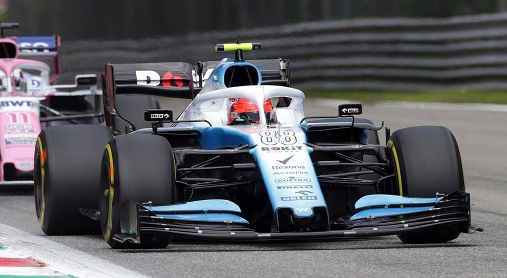 La Williams di Robert Kubica