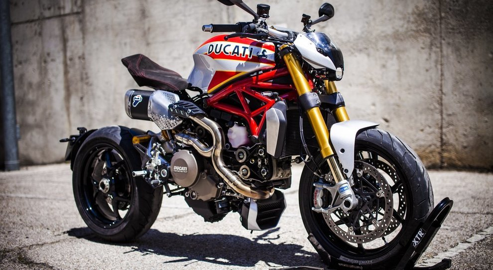 La Ducati Monster siluro