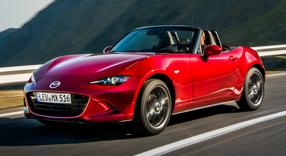 La rinnovata Mazda MX5 Model Year 2019