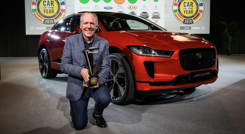 Salone Ginevra, l'elettrica Jaguar i-Pace è l'Auto dell Anno 2019