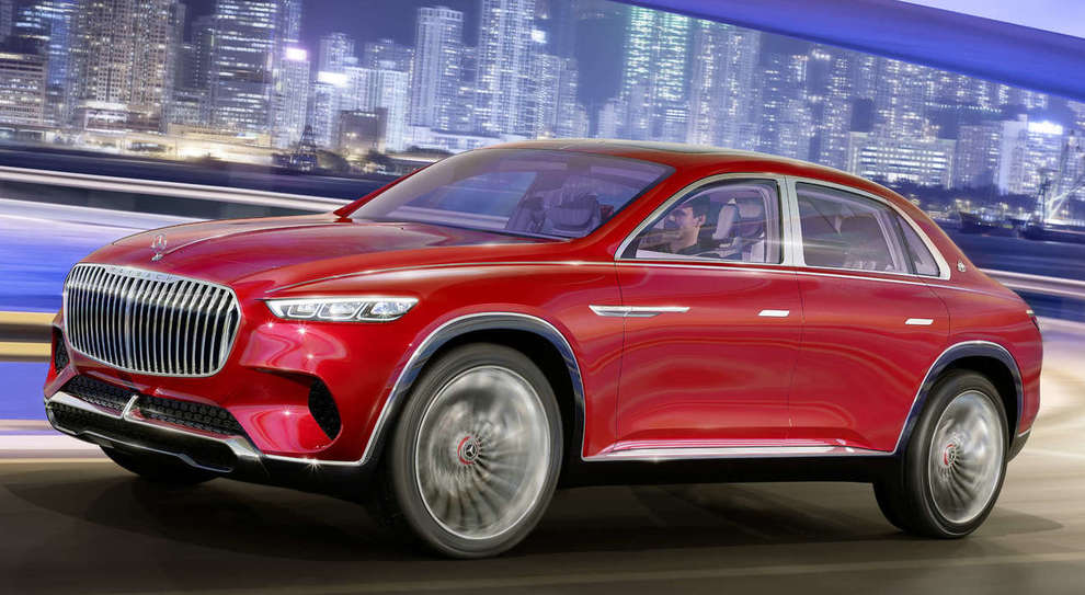 La Vision Mercedes Maybach Ultimate Luxory