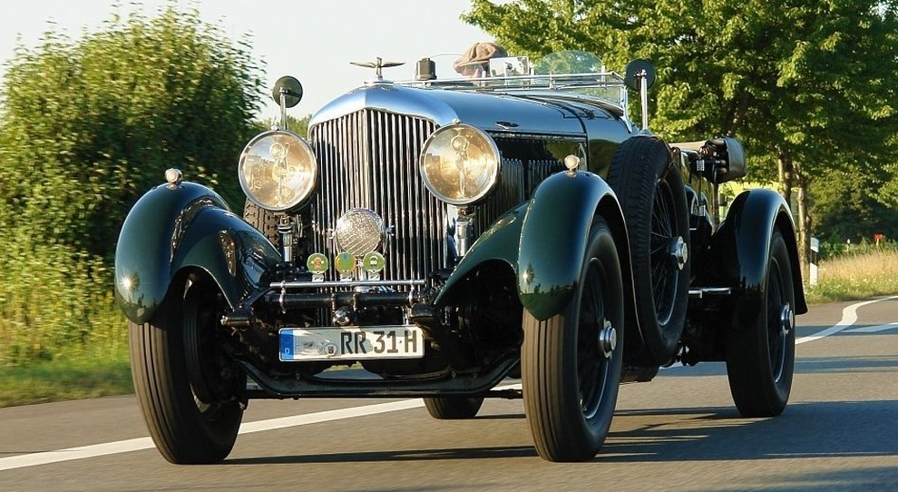 La Bentley 8 Litre del 1931