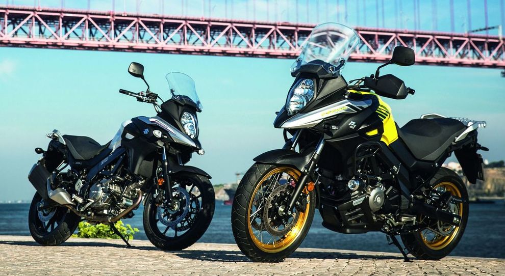 La Suzuki V-Strom in versione Feel More e Globe Rider