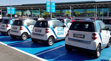 Car2go atterra a Fiumicino, car sharing di Daimler disponibile anche all'Aeroporto Leonardo da Vinci