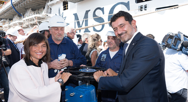 MSC, Onorato: «Seaview e Seaside gioielli del made in Italy. Positiva la nuova governance dei porti»
